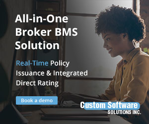 All-in-one Broker BMS solution: Get The Broker's Workstation (TBW) from Custom Software Solutions Inc.
