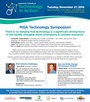 "View the flyer for the 2018 MGA Symposium: ""Technology: The Heart of Your Enterprise"" – Tuesday, November 27, 2018, at Malaparte, TIFF Bell Lightbox, Toronto"