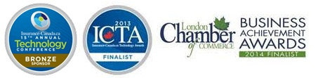 Finalist for a2013 Insurance-Canada.ca Technology Award (ICTAs)!