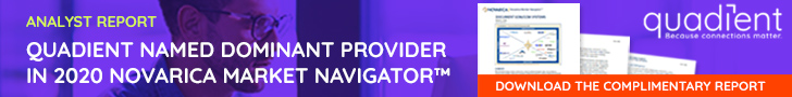 Quadient named a Dominant Provider in 2020 Novarica Market Navigator: download the report
