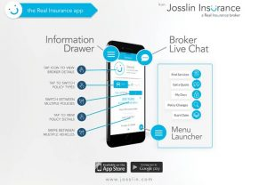 Josslin's new, free Real Insurance app gives clients Smartphone access to their insurance information
