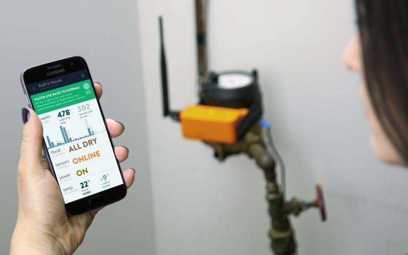 Alert Labs offers easy to install technology that provides real-time water use, flood, leak, temperature, and power alerts