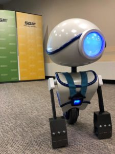 Bucklebot, the newest addition to the SGI Safety Squad (SGI CANADA)