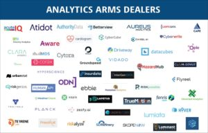Analytics Arms Dealers (Novarica 2019 Insuretech Report)
