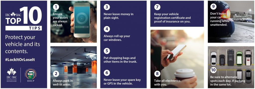 IBC's top tips to stop thefts of vehicles and valuables left in plain view
